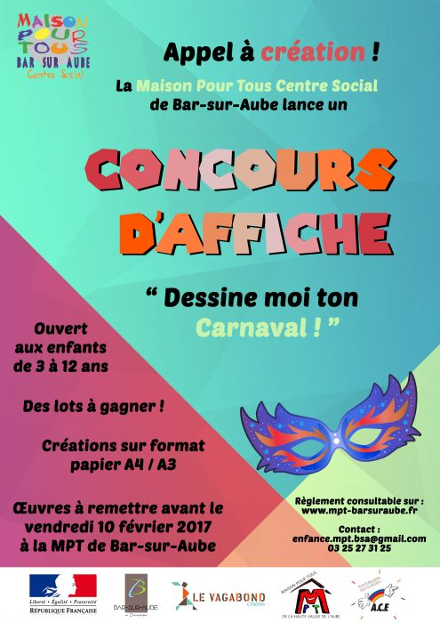 Affiches du concours Carnaval 2017