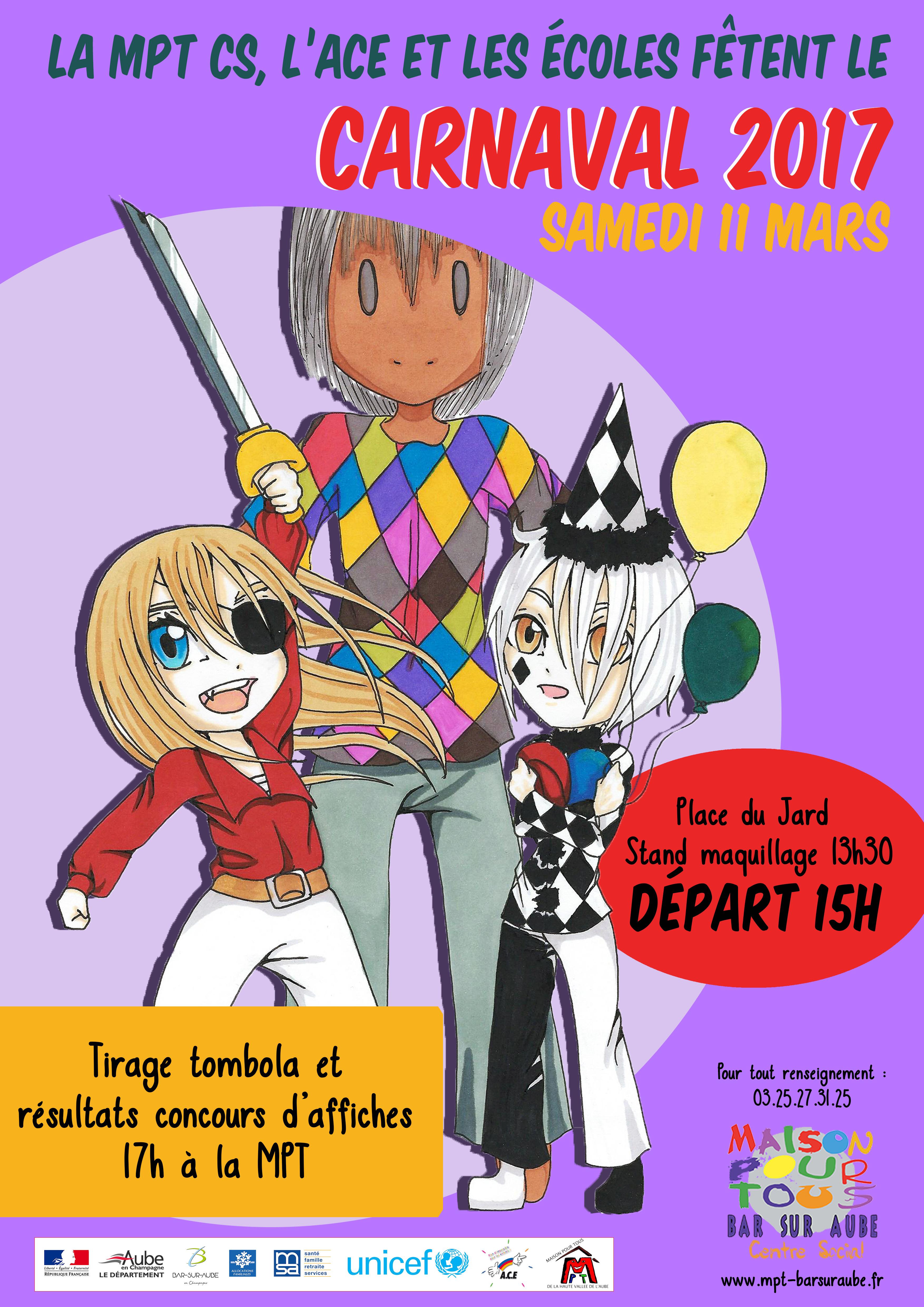 Accéder aux informations concernant le Carnaval !